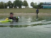 Potápění na Kulkwitzer See