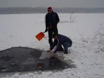 Potápění pod ledem - Barbora 2010